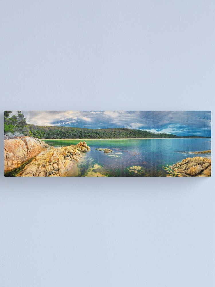 Alternate view of Wingan Inlet, Croajingolong National Park, Victoria, Australia Canvas Print