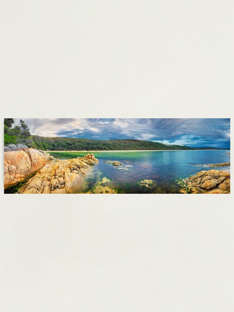 Alternate view of Wingan Inlet, Croajingolong National Park, Victoria, Australia Photographic Print