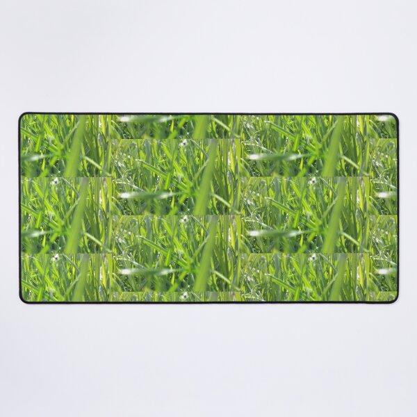 In The Grass Desk Mat