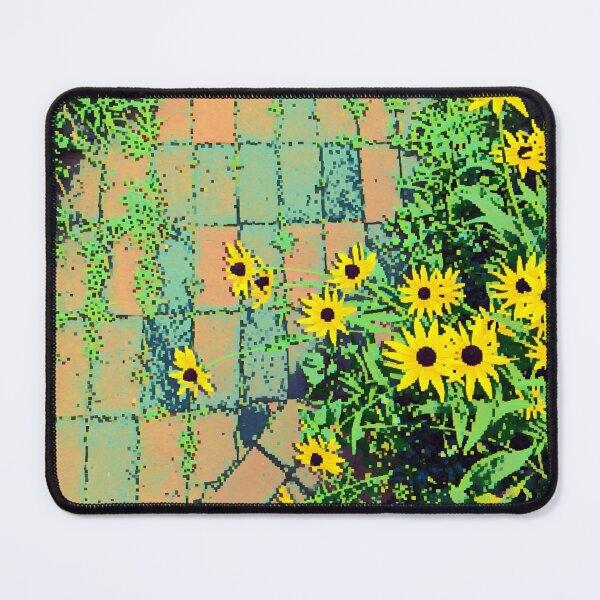 8Bit Flower Path Mouse Pad
