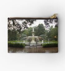 The Fountain In Forsyth Park Studio Pouch