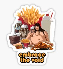 Embrace The Void - Glutton Sticker