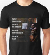 Jeffery Dean Morgan's Multiverse Unisex T-Shirt