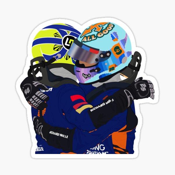 Lando Norris & Daniel Ricciardo Monza GP 2021 Sticker