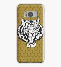Yuri's Tiger: B&W Honeycomb Samsung Galaxy Case/Skin