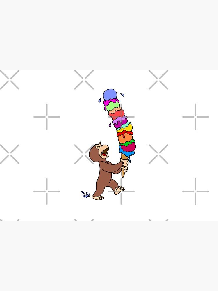 Curious George Has An Ice Cream Treat by Pop-Pop-P-Pow