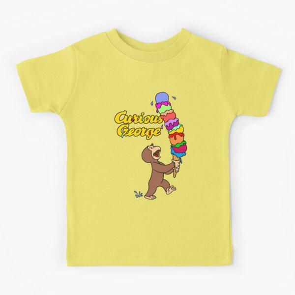 Curious George Has An Ice Cream Treat Kids T-Shirt