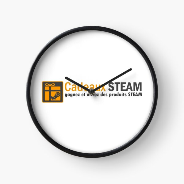 STEAM Gifts - Complete Logo Clock