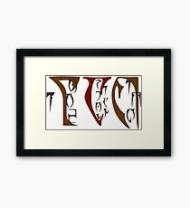 Argonian Appreciation Framed Print