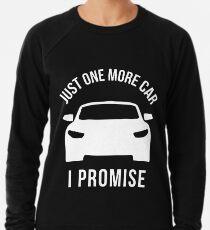 b0e179b1 Just One More Car I Promise Lightweight Sweatshirt