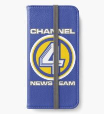 Channel 4 News Team (ANCHORMAN) iPhone Wallet/Case/Skin