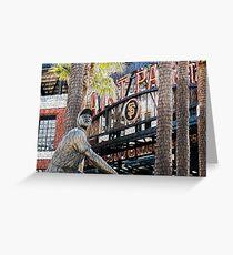 San Francisco Giants Main Gate Greeting Card