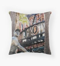 San Francisco Giants Main Gate Throw Pillow