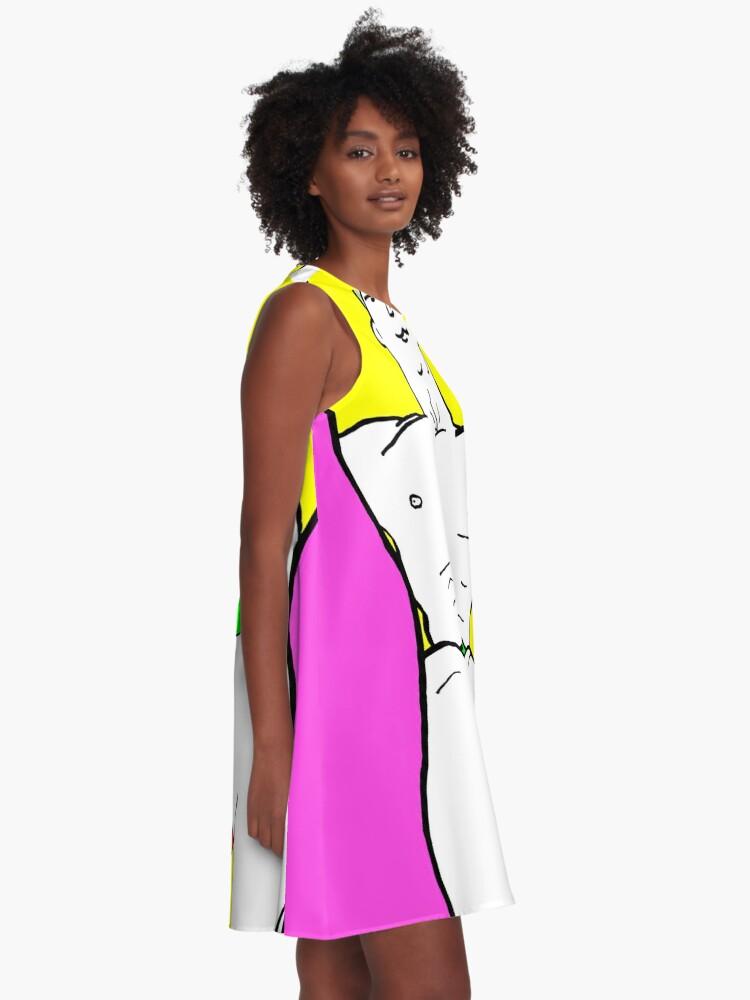 Alternate view of Best Foot Forward A-Line Dress