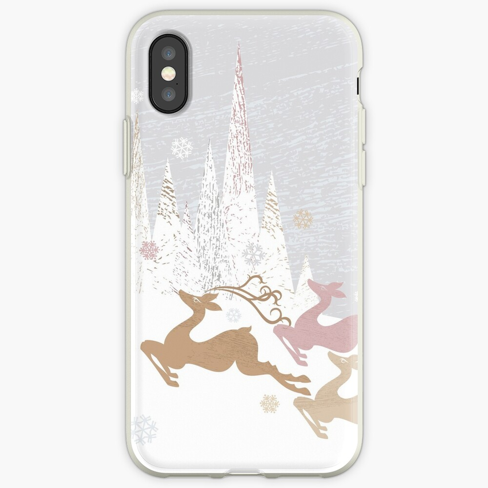 Winter Deer iPhone Case & Cover