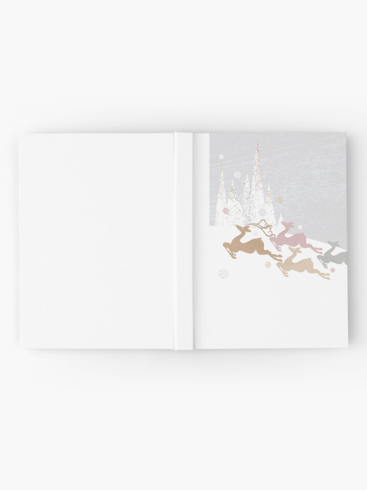 Alternate view of Winter Deer Hardcover Journal