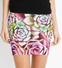 Succulent Pink Mini Skirt