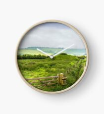 English Country Landscape 2 Clock