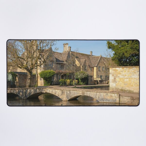 Bourton-on-the-Water Desk Mat
