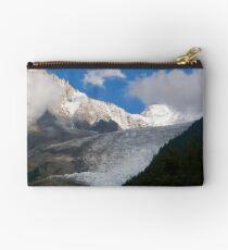 Bossons Glacier, Chamonix Studio Pouch