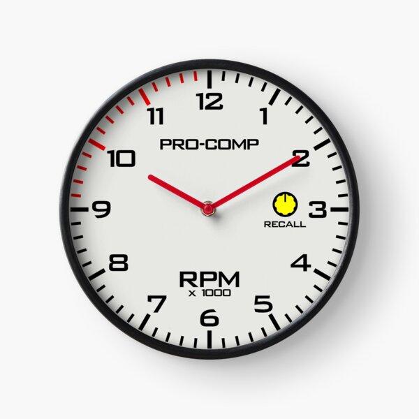 Pro Comp Tachometer Clock Clock