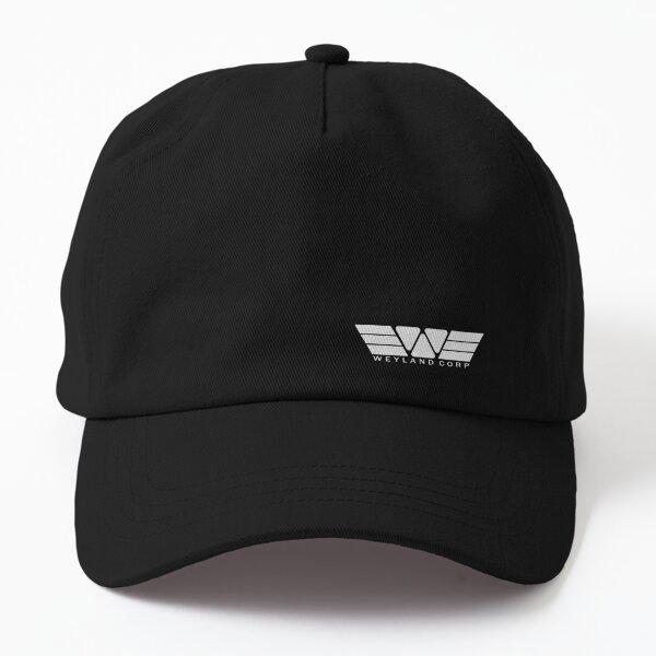 weyland corp logo (right) Dad Hat