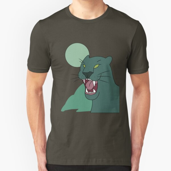panther shirt, gravity falls Slim Fit T-Shirt