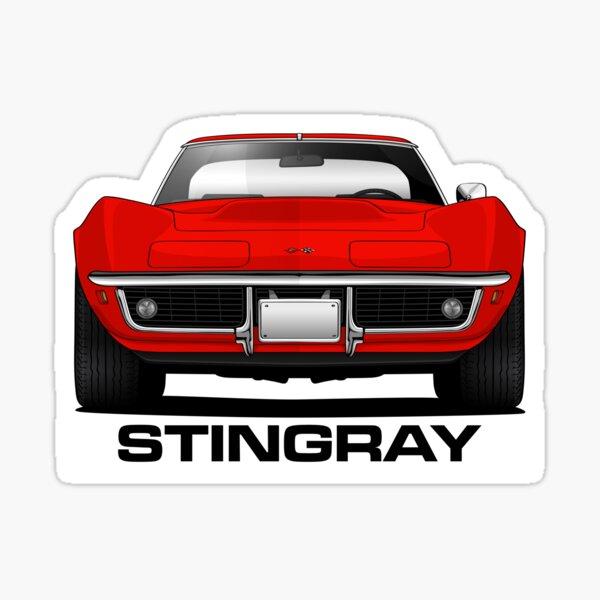 Corvette Stingray Sticker