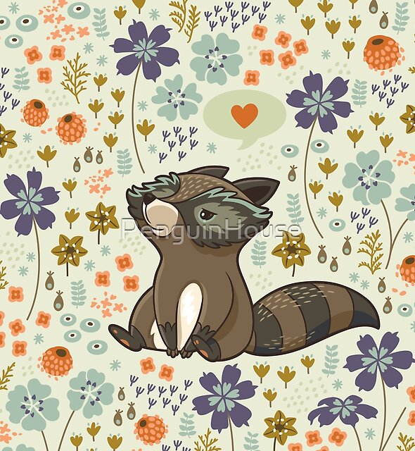 Funny little raccoons by PenguinHouse