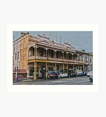 Old Coffee Palace Art Print