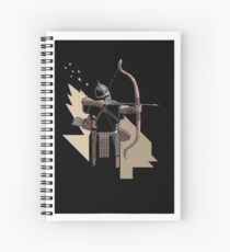 Roman Bowman Spiral Notebook