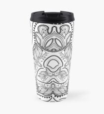 Indian paisley ornament Travel Mug