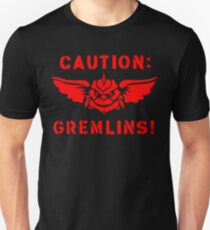 Caution: Gremlins! Unisex T-Shirt