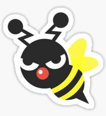 Pegatina Bloque b - Mascota de la abeja