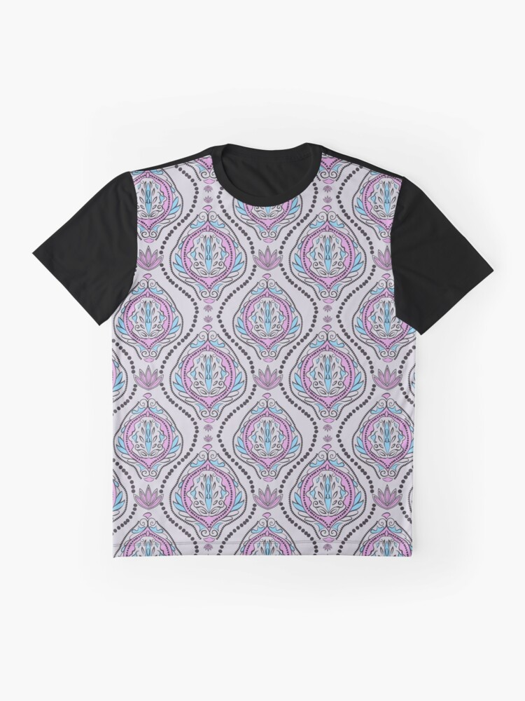 83156cce Alternate view of pattern in indian, ethnic, boho style Graphic T-Shirt