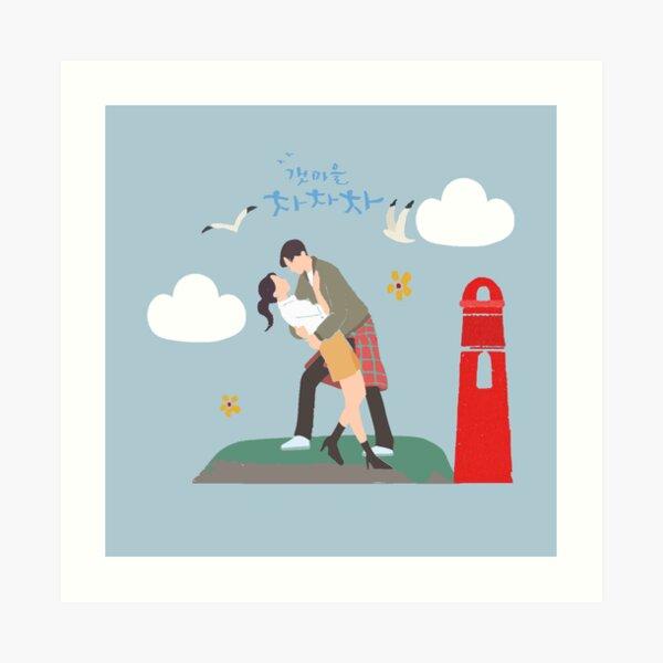 Hometown Cha Cha Cha | Shikhye Couple Art Print