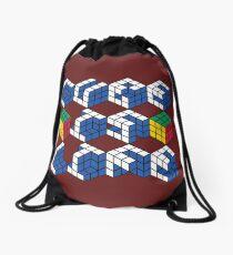 Cube is Life Drawstring Bag