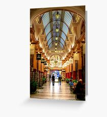Block Arcade, Melbourne Greeting Card