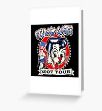 The Rockabilly Tour Greeting Card
