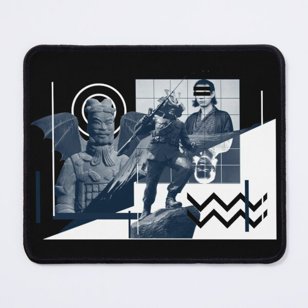 Japanese Warriors Mouse Pad