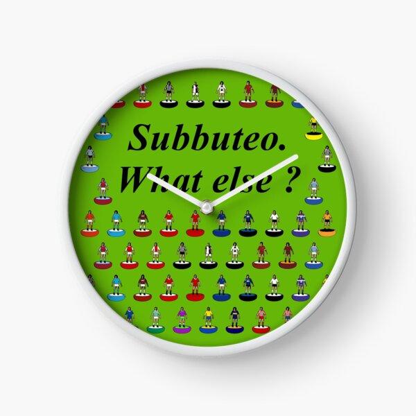 Subbuteo What else? Clock