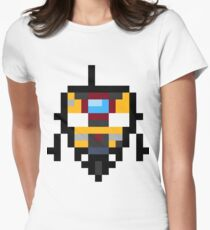 Pixel Claptrap Womens Fitted T-Shirt