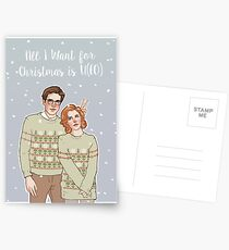 all i want for xmas is u(fo) Postcards