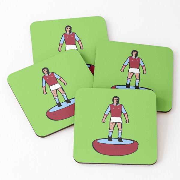 Subbuteo Player Aston Villa Coasters (Set of 4)