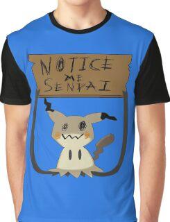 Mimikyu - Notice me senpai Graphic T-Shirt