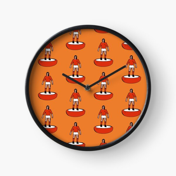 Subbuteo Player Netherland Olanda vintage Clock