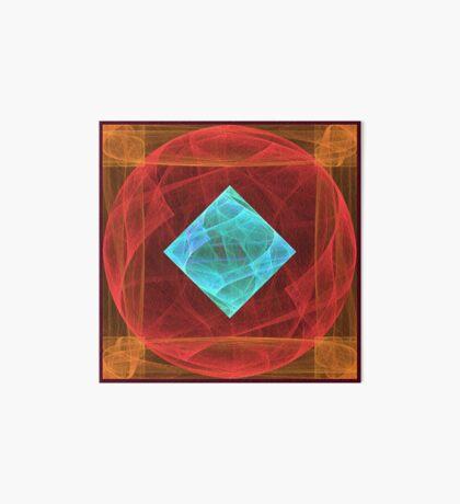 Antiquarian Pulsar #fractal art Art Board Print