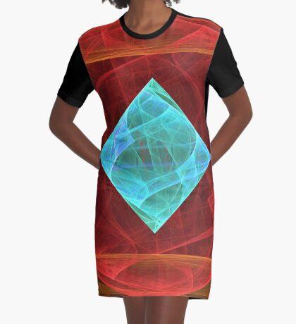 Antiquarian Pulsar #fractal art Graphic T-Shirt Dress