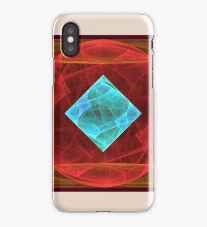 Antiquarian Pulsar #fractal art iPhone Case