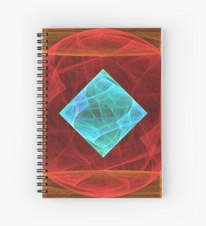 Antiquarian Pulsar #fractal art Spiral Notebook